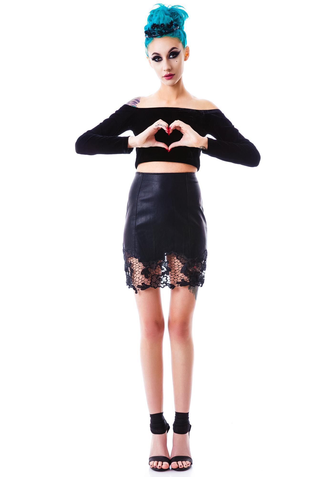 The Black Dahlia Skirt