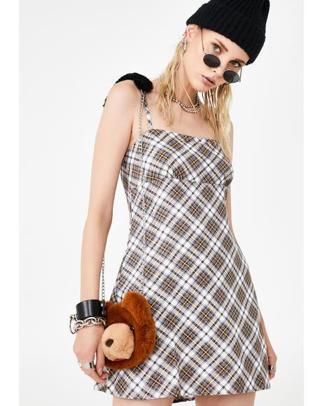 Grunge Check Andin Dress