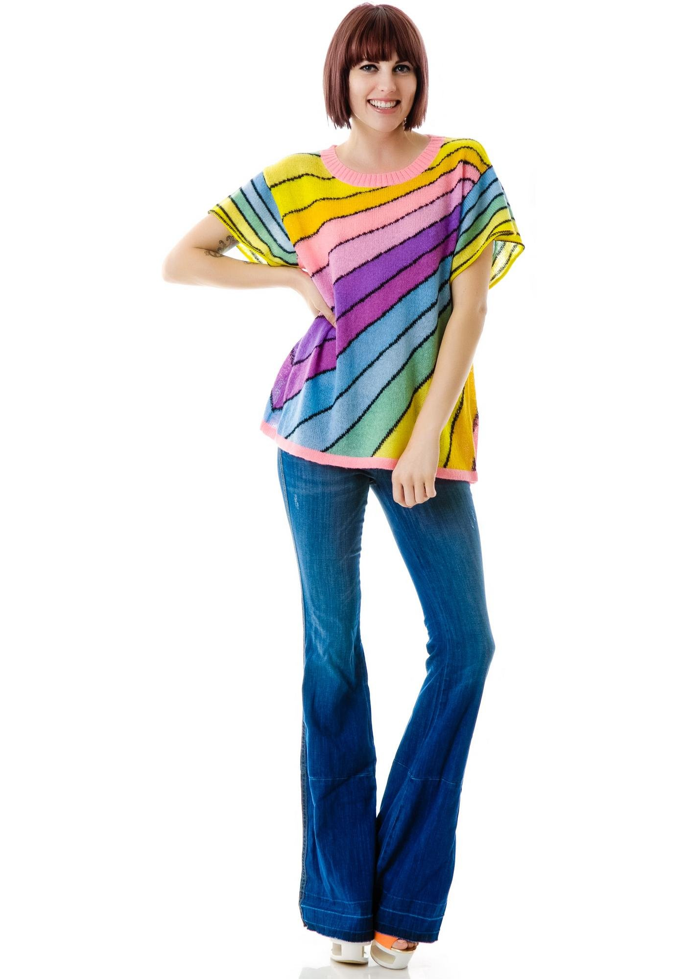 Wildfox Couture Over the Rainbow Lakehouse Tee