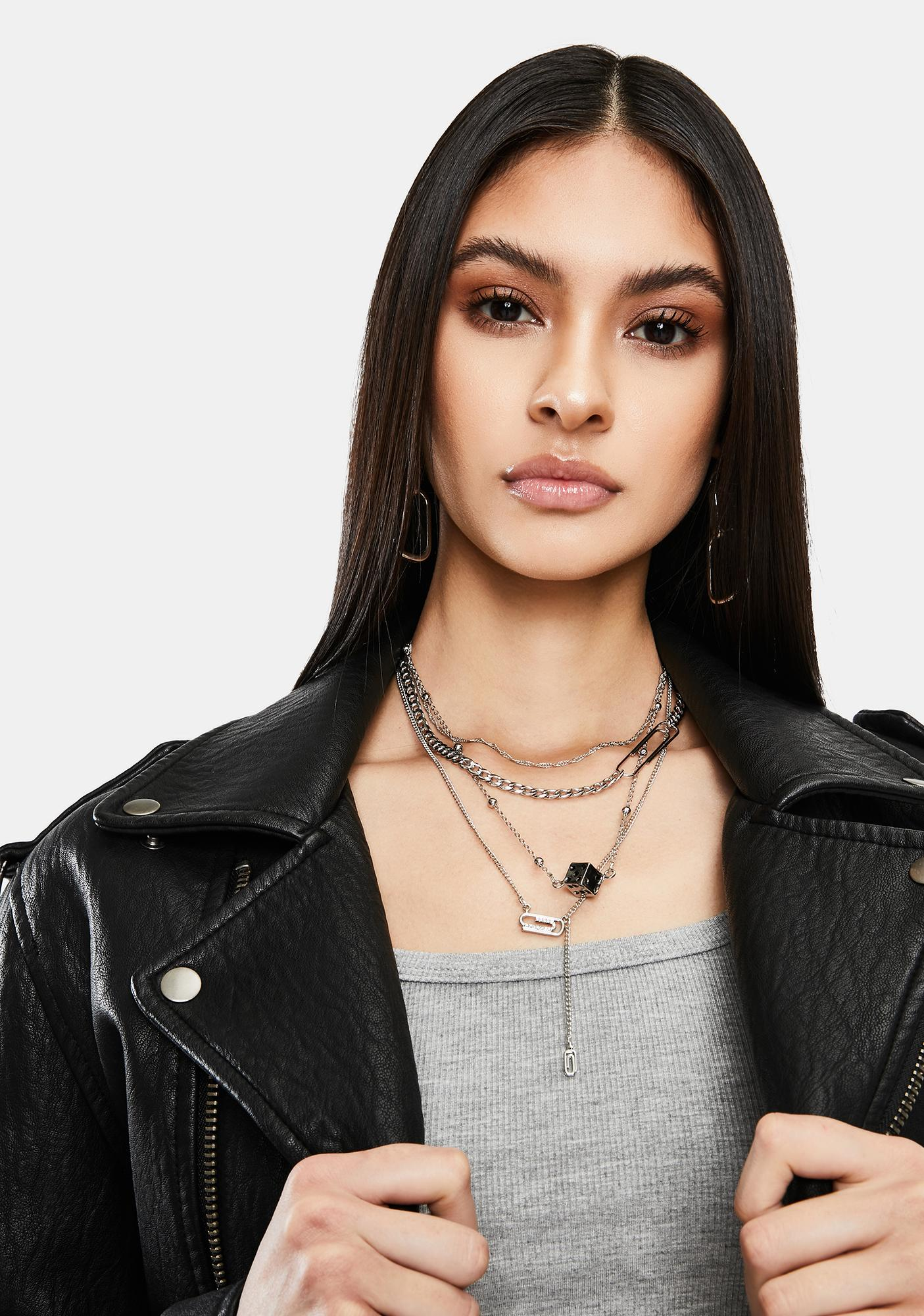 Against All Odds Layered Chain Necklace