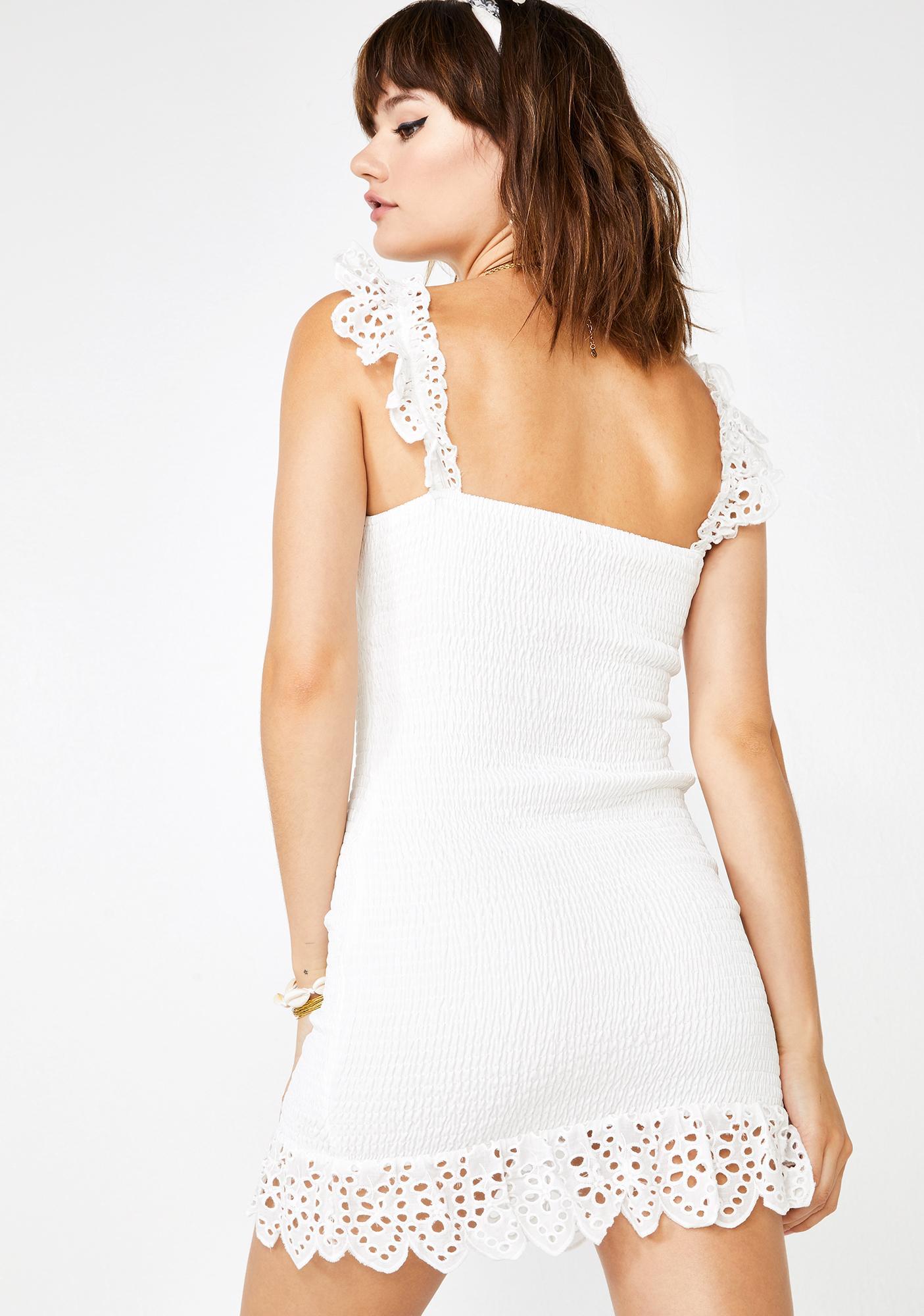 Sunshine Romance Eyelet Dress