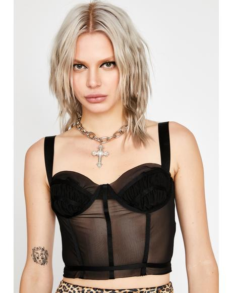 Sinful Grand Finesse Corset Top