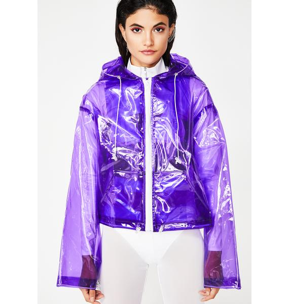 Purp Clear Intentions PVC Jacket