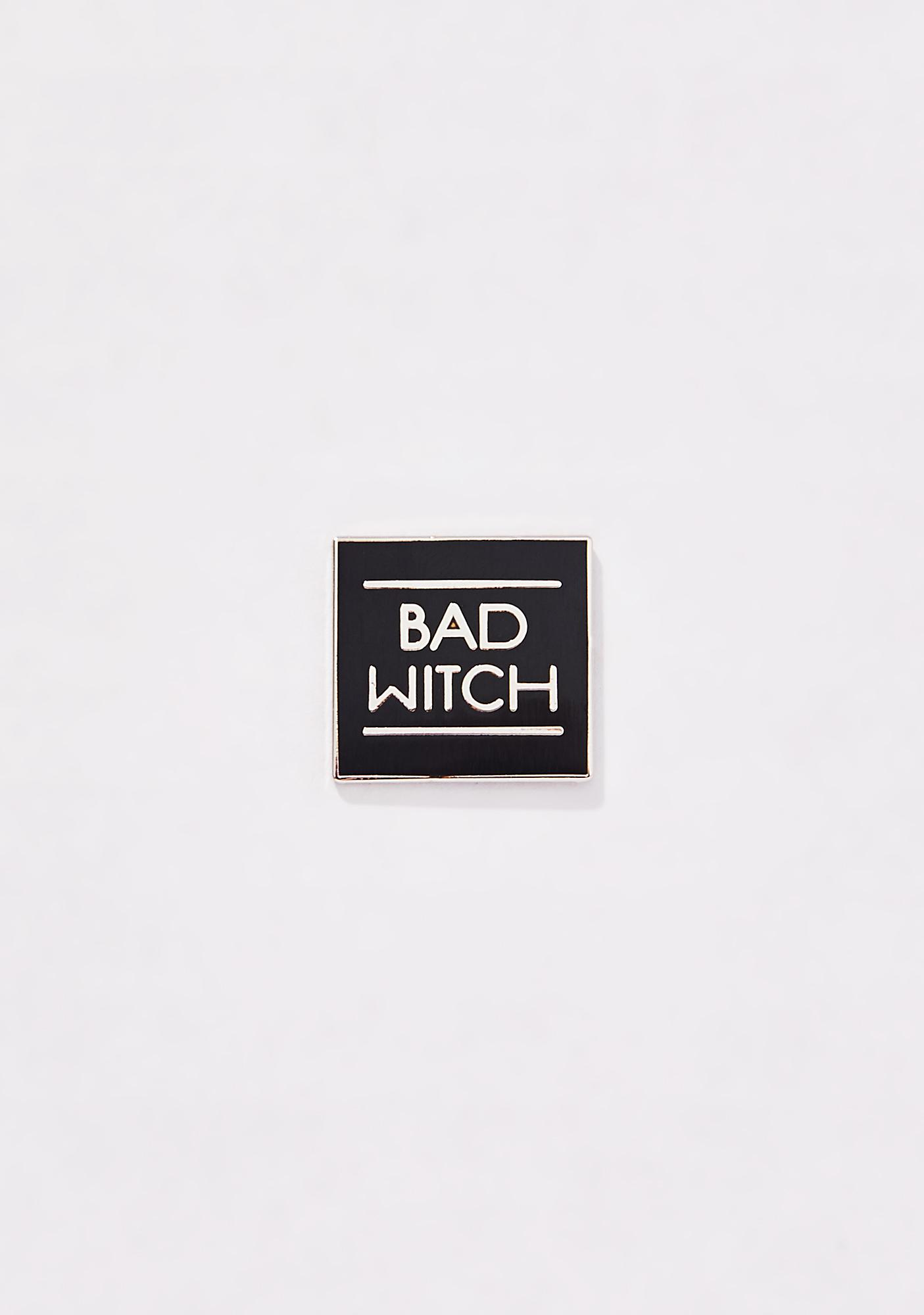 Last Craft Bad Witch Pin