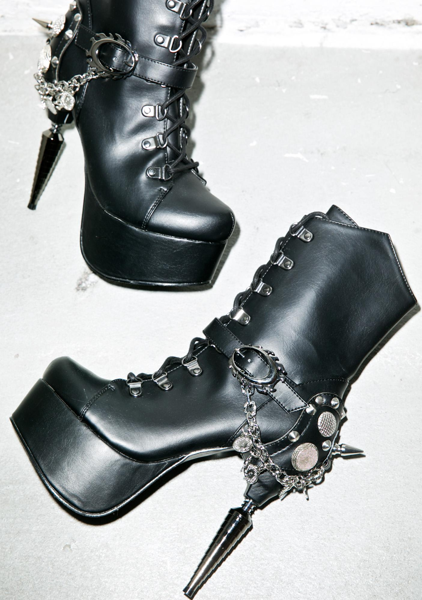 Hades Footwear Envy High Heel Boots