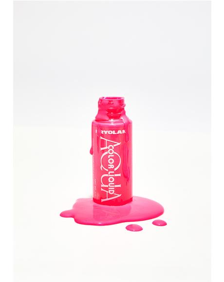 Pink Aquacolor Liquid UV Color