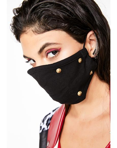 Baddie Tendencies Stud Mask