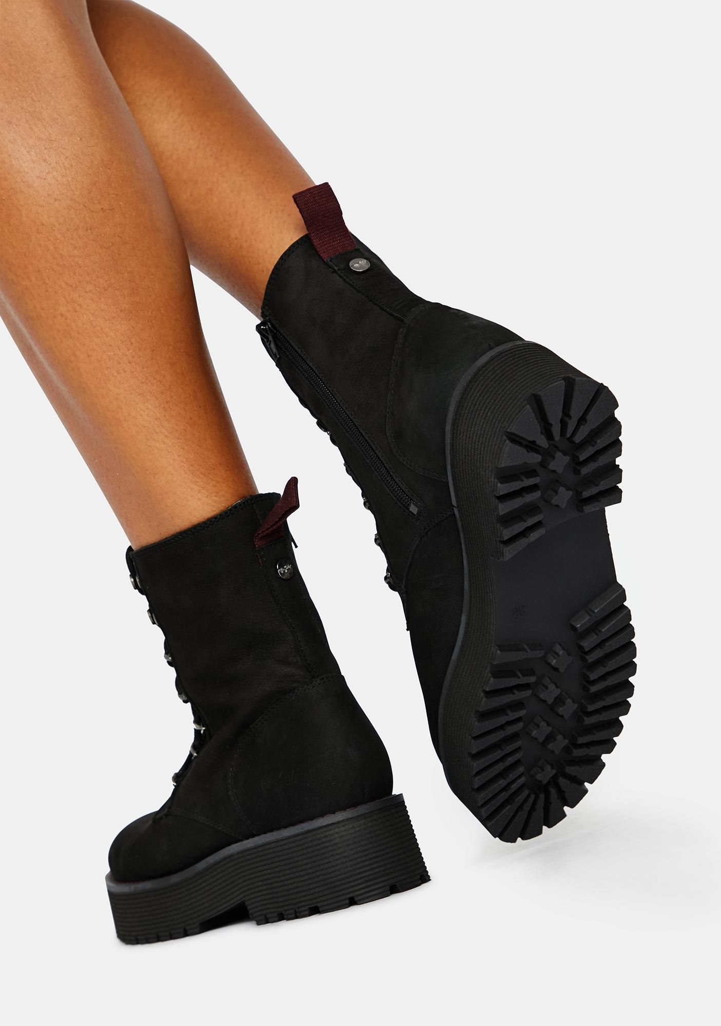 Buffalo Mattie Suede Boots