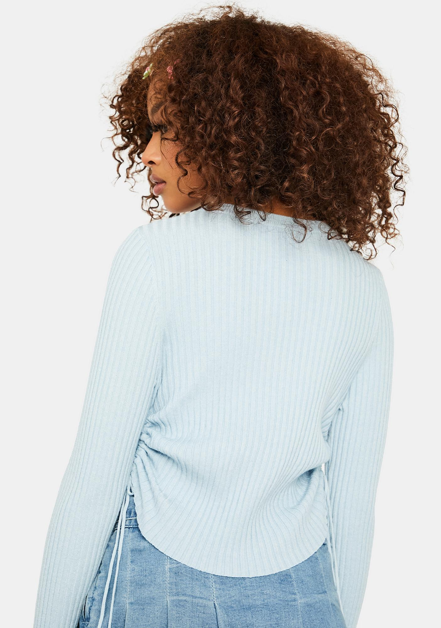 Cuter Than Ever Ruched Crop Top
