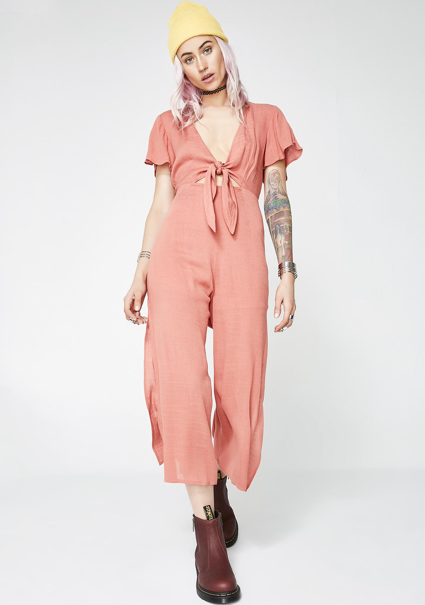 Knot For Keeps Jumpsuit