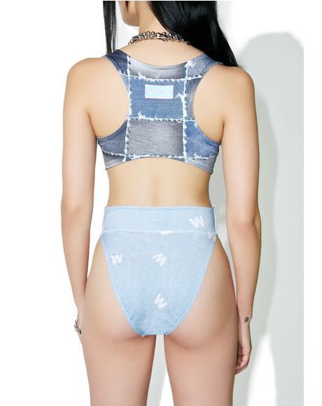 True Denim Bodysuit