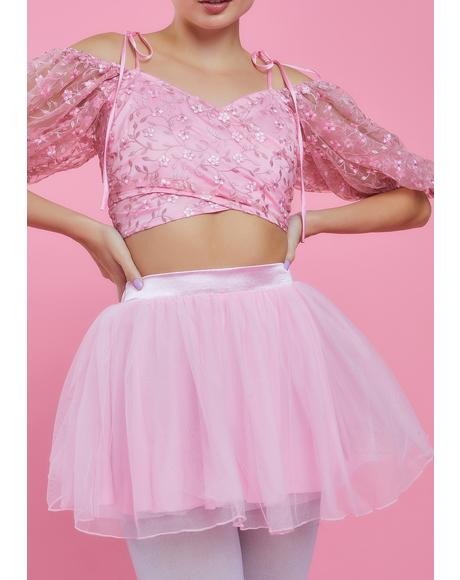 Got Your Attention Tulle Skirt