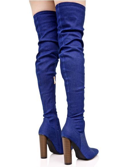 Mimi Thigh-High Boots
