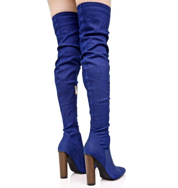 Mimi Thigh-High Boots