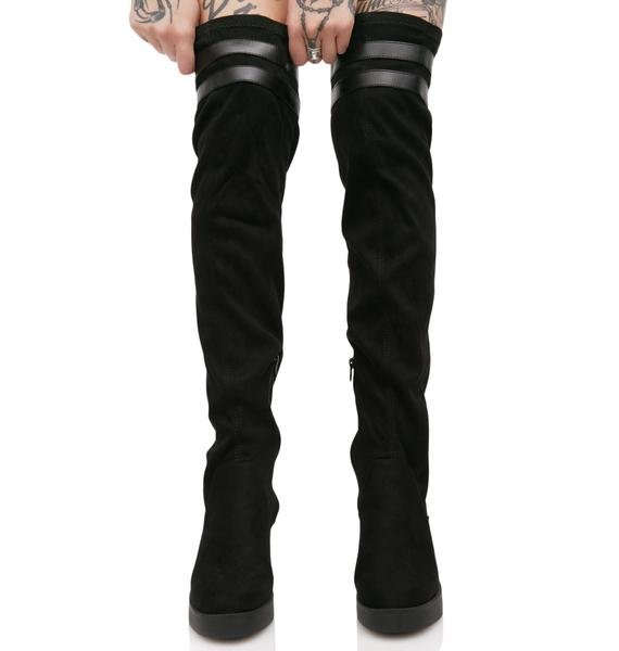 Lust For Life Sleek Thigh-High Boots