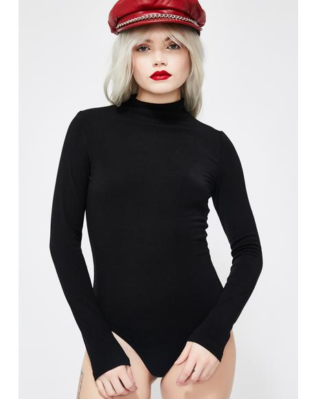 Wicked Complex Heart Knit Bodysuit
