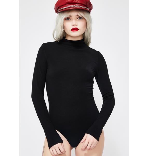 Wicked Complex Heart Knit Bodysuit