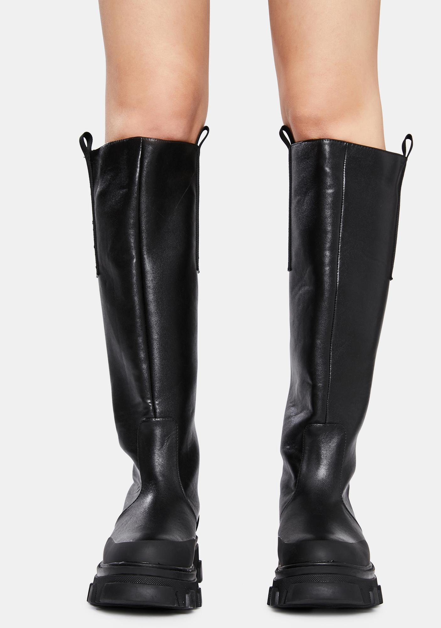 Public Desire Genius Knee High Boots