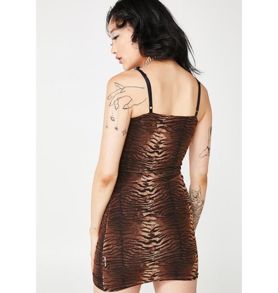 Out Clubbin' Ruched Mini Dress