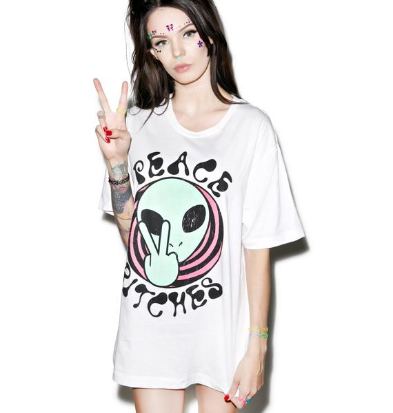 Kill Brand Peace Bitches Tee