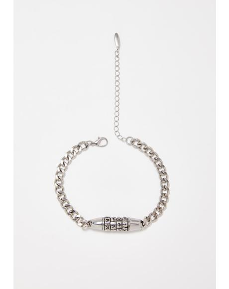 The Code Lock Anklet