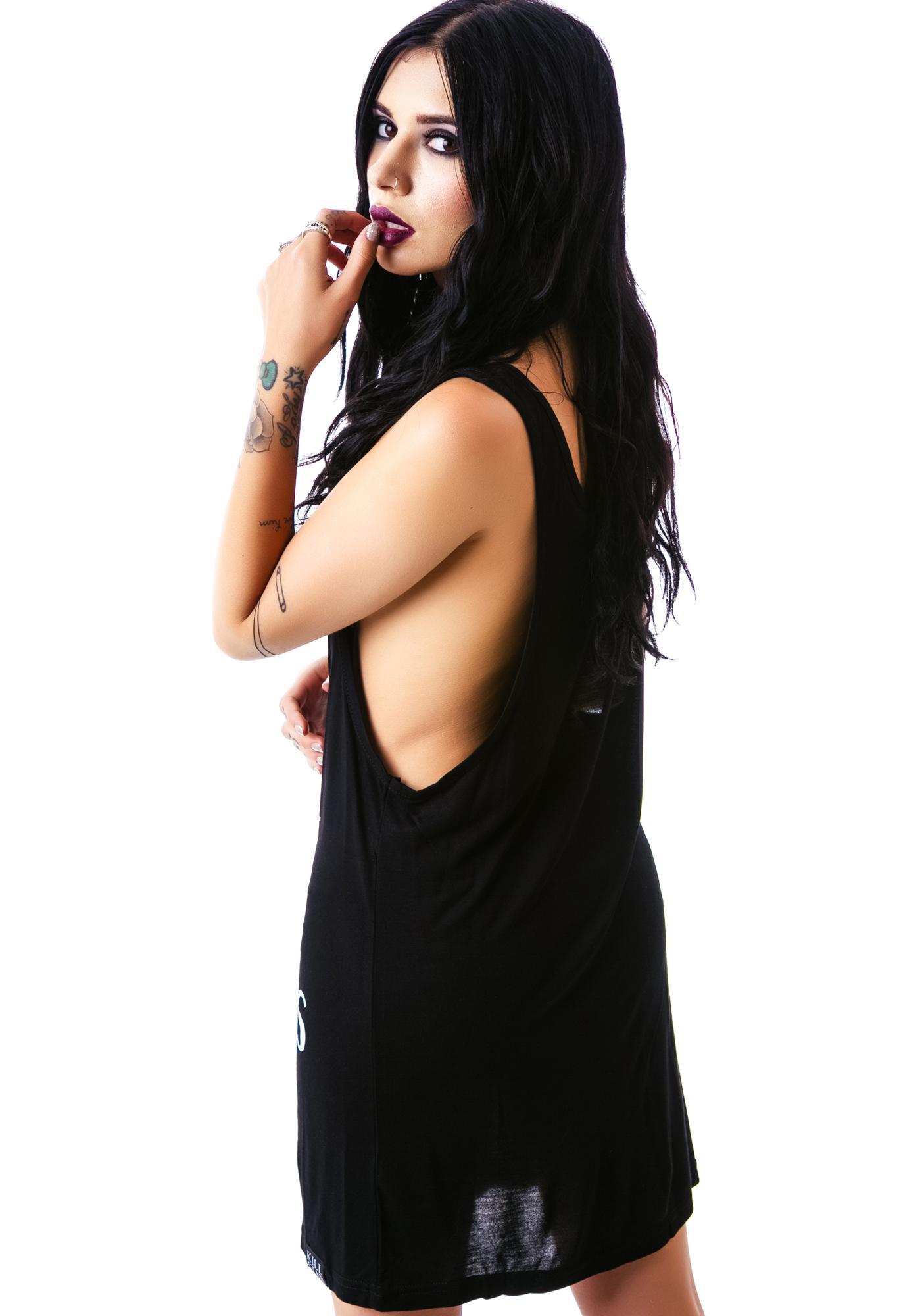 Killstar Weirdos Tank Dress