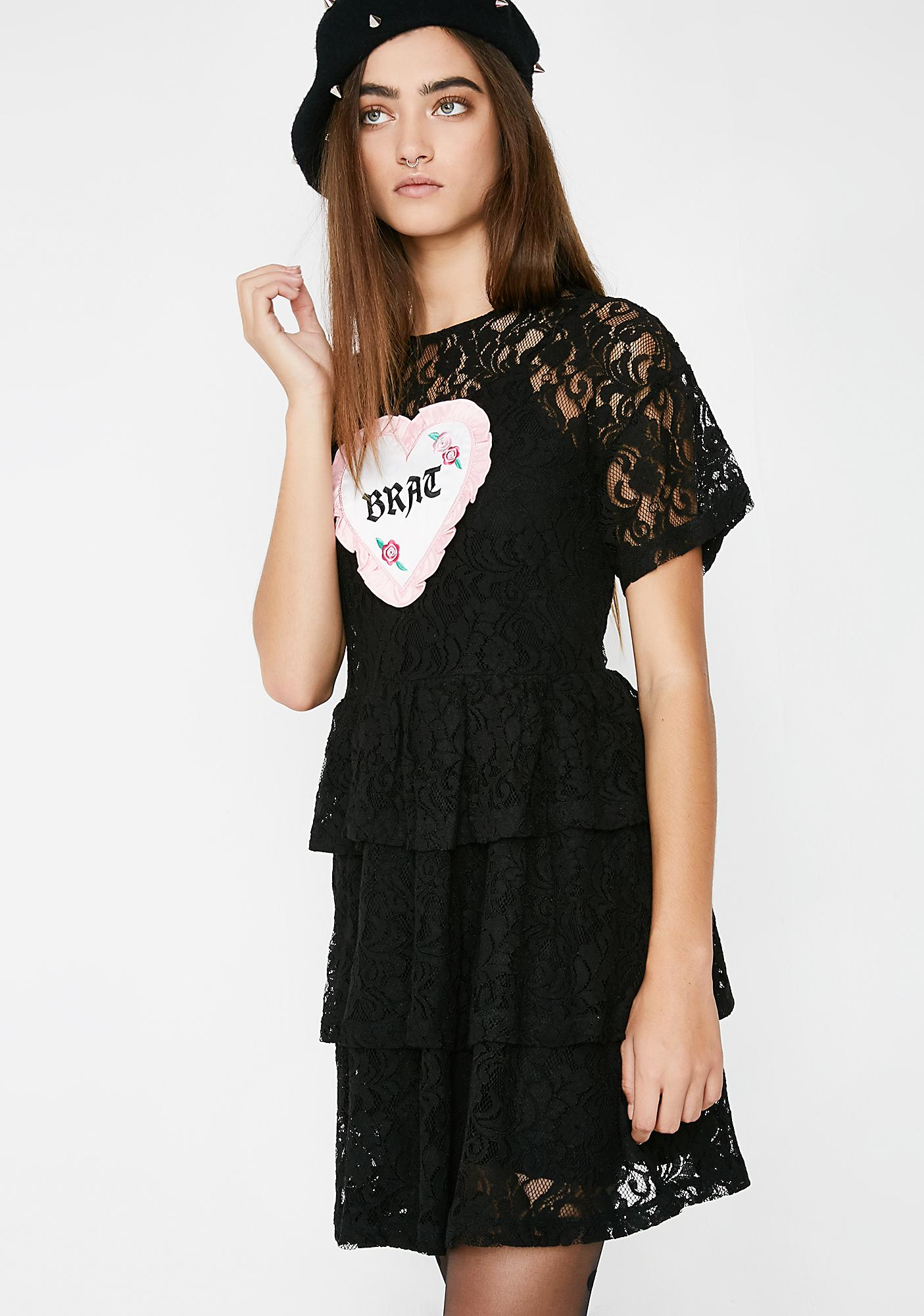 Lazy Oaf Bratitude Dress