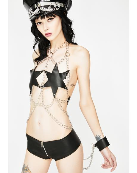 Made For Sin Chain Bustier