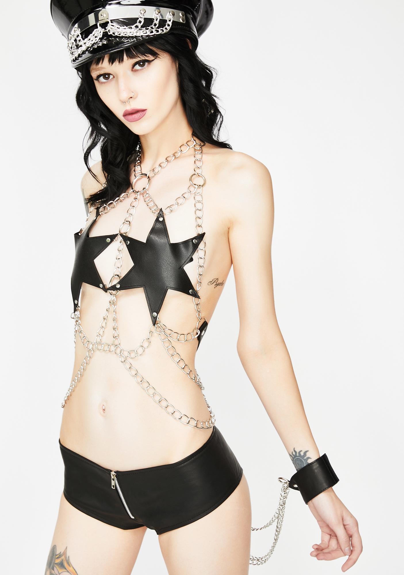 Kiki Riki Made For Sin Chain Bustier