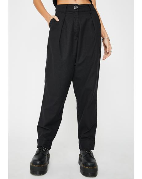 Misca High Waist Trousers