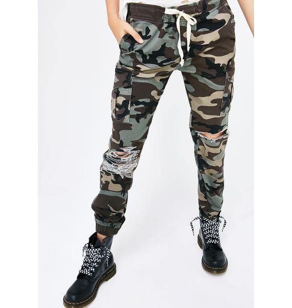 On The Frontline Joggers