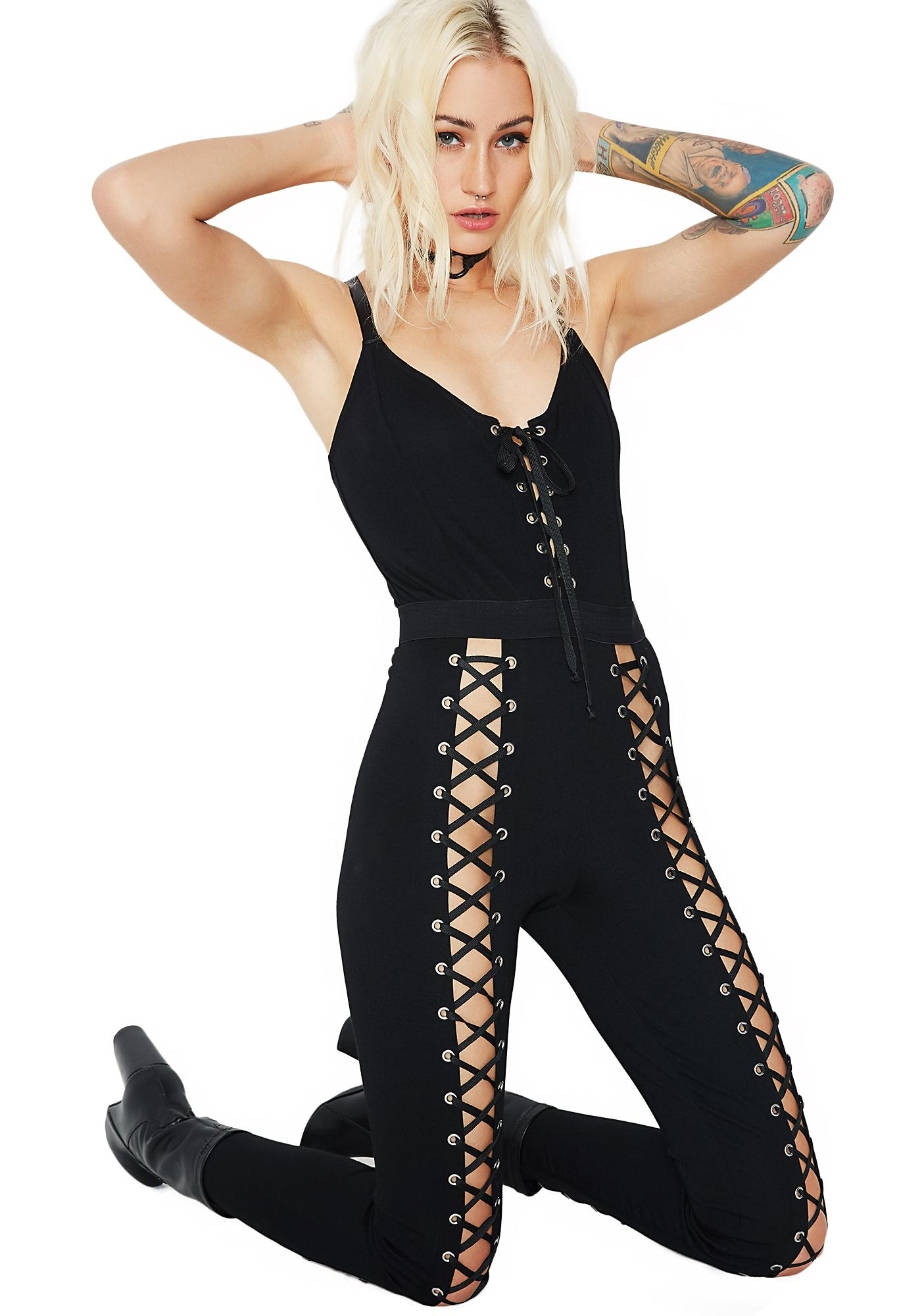 Current Mood Nancy Corset Catsuit