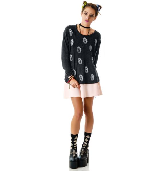 Wildfox Couture Spiderwebs Rainy Beach House Tee