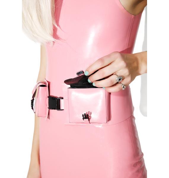 Meat Clothing Waist Double Belt