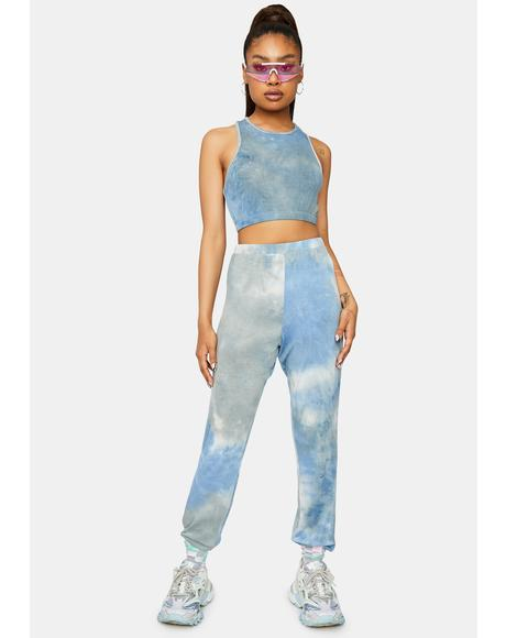 Keep It Chill Tie Dye Joggers Set