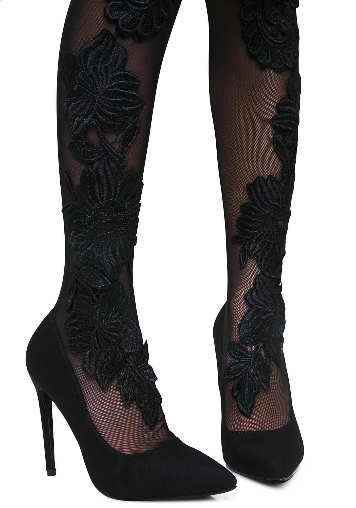 Sensual Seduction Thigh High Heels