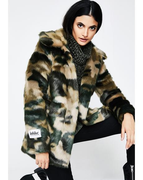Camo Tammy Coat