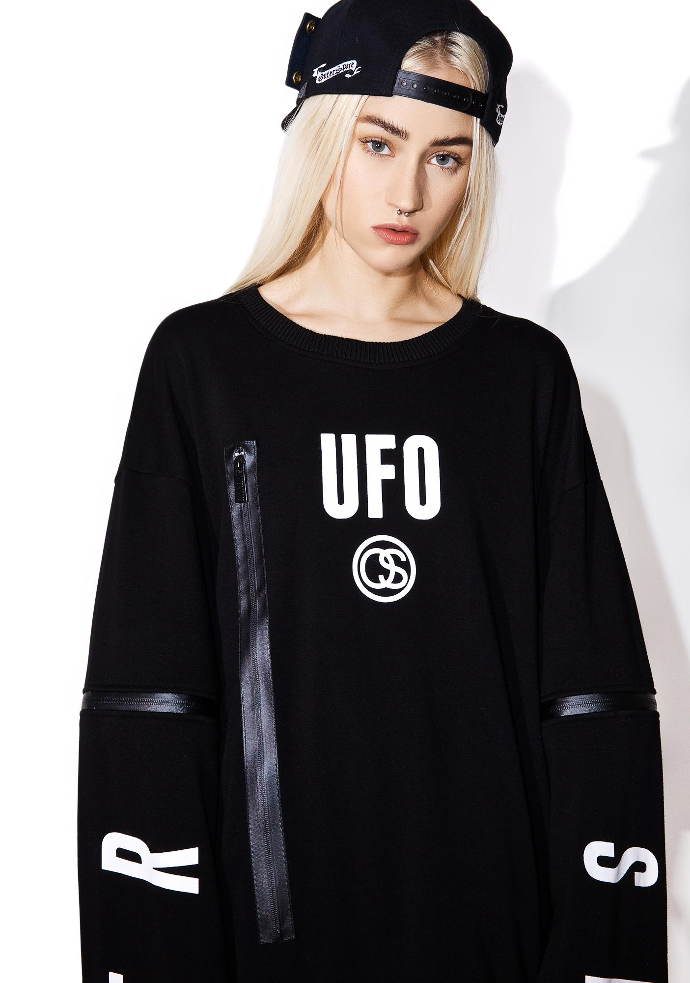 Outerspace Two-Way UFO Sweater