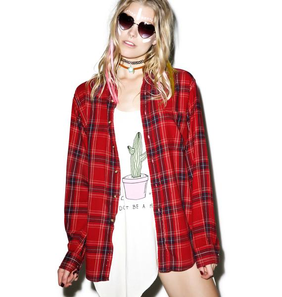 Jac Vanek Where The Hell Am I Vintage Flannel