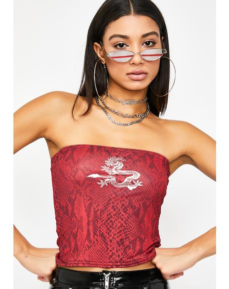 Dragon Tube Top