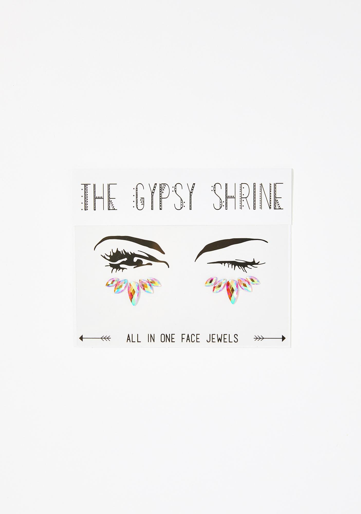 Sugar Kiss Under Eye Jewels by The Gypsy Shrine