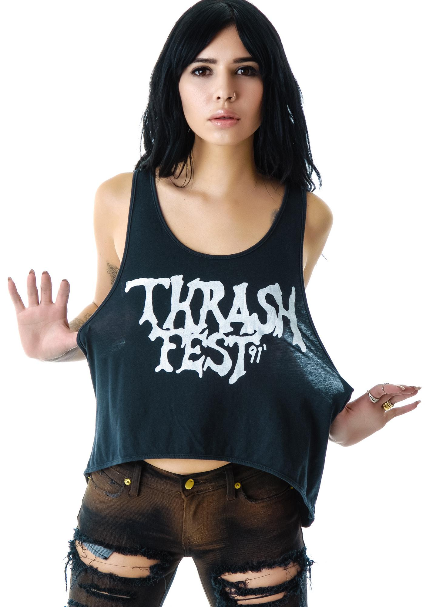 Bandit Brand Thrash Fest Rad Deep Armhole Tank