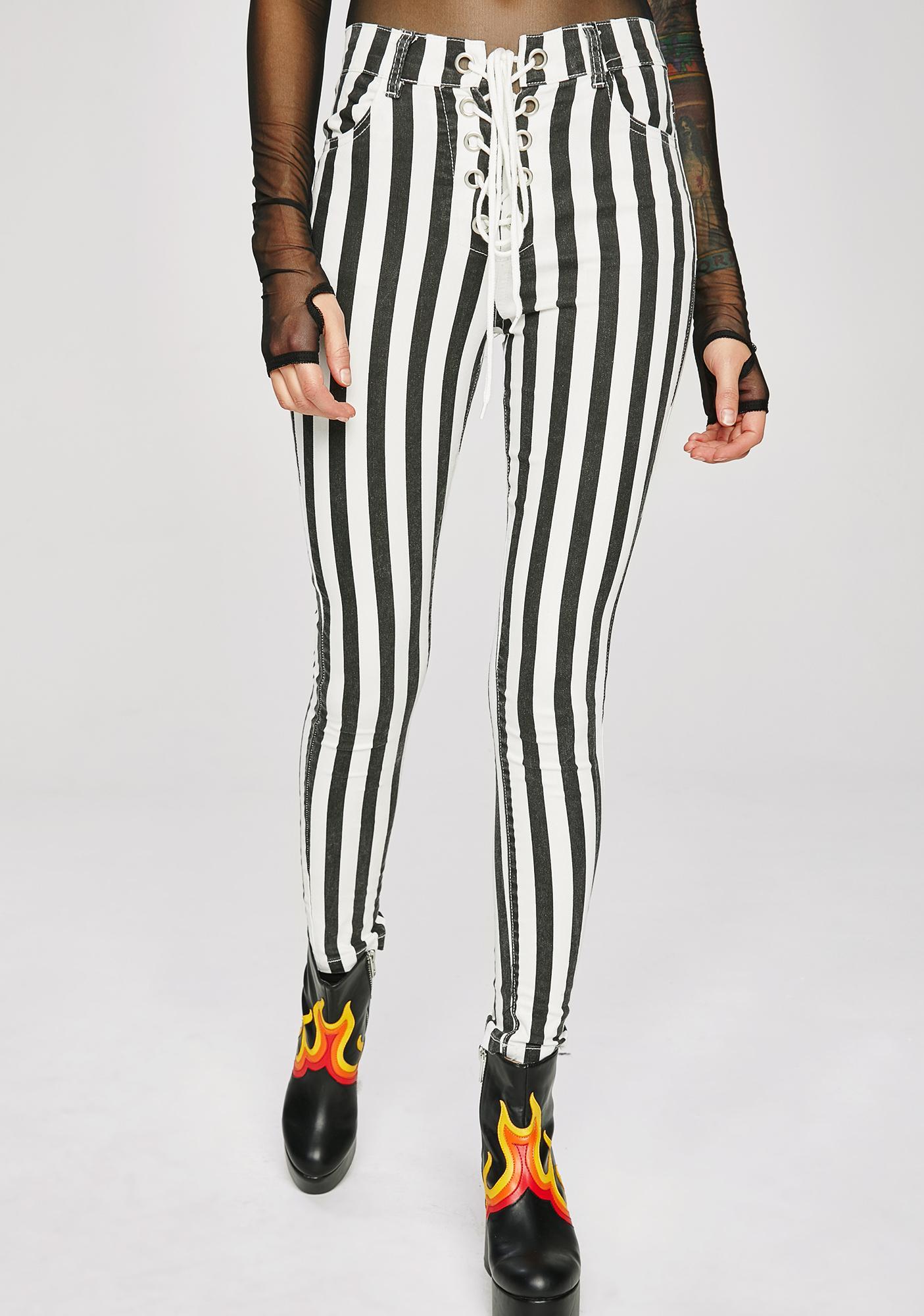 Got The Juice Stripe Pants