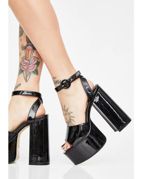 Wicked Chick Flick Patent Heels