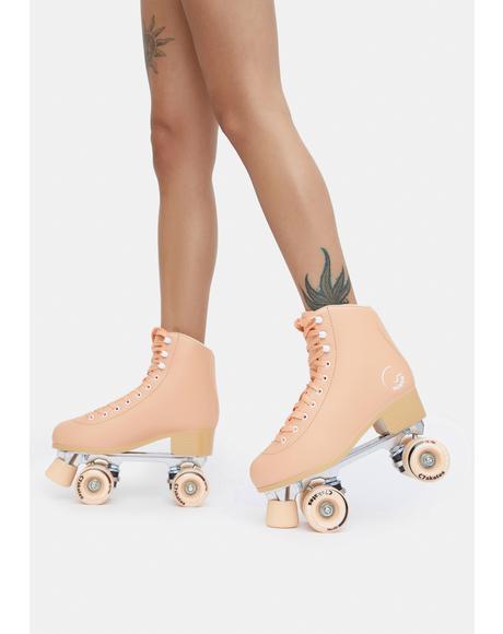 Premium Peachy Keen Quad Skates