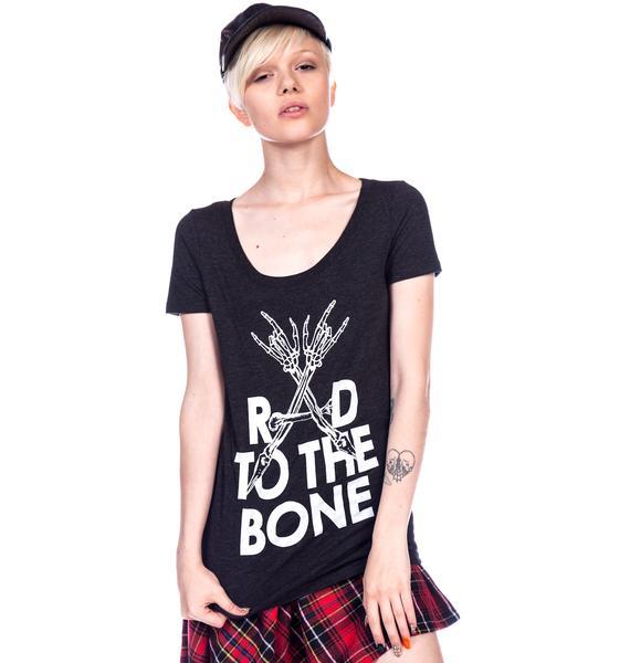 HLZBLZ x Belle of the Brawl Rad to the Bone Tee