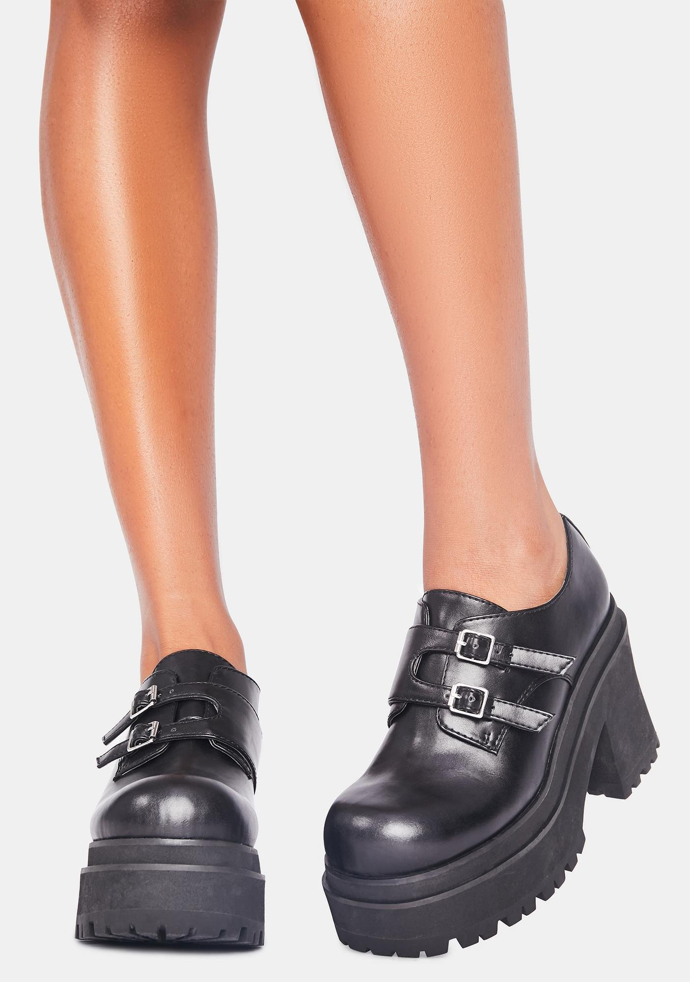 dELiA*s by Dolls Kill So Superstitious Platform Oxfords