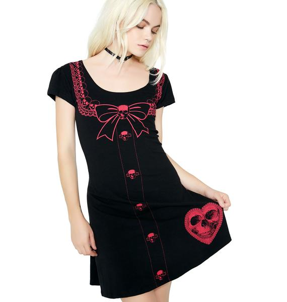 Kreepsville 666 Serial Killer Flare Dress