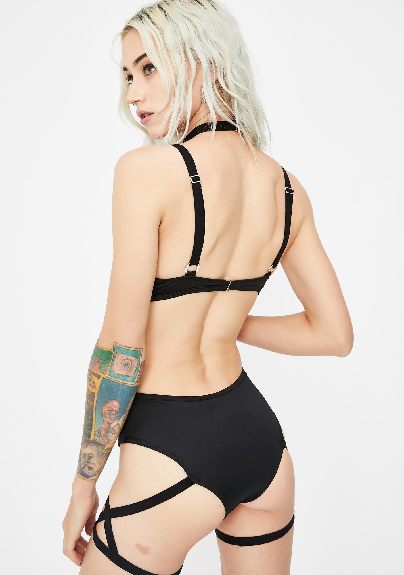Bedroom Babe Harness Bodysuit