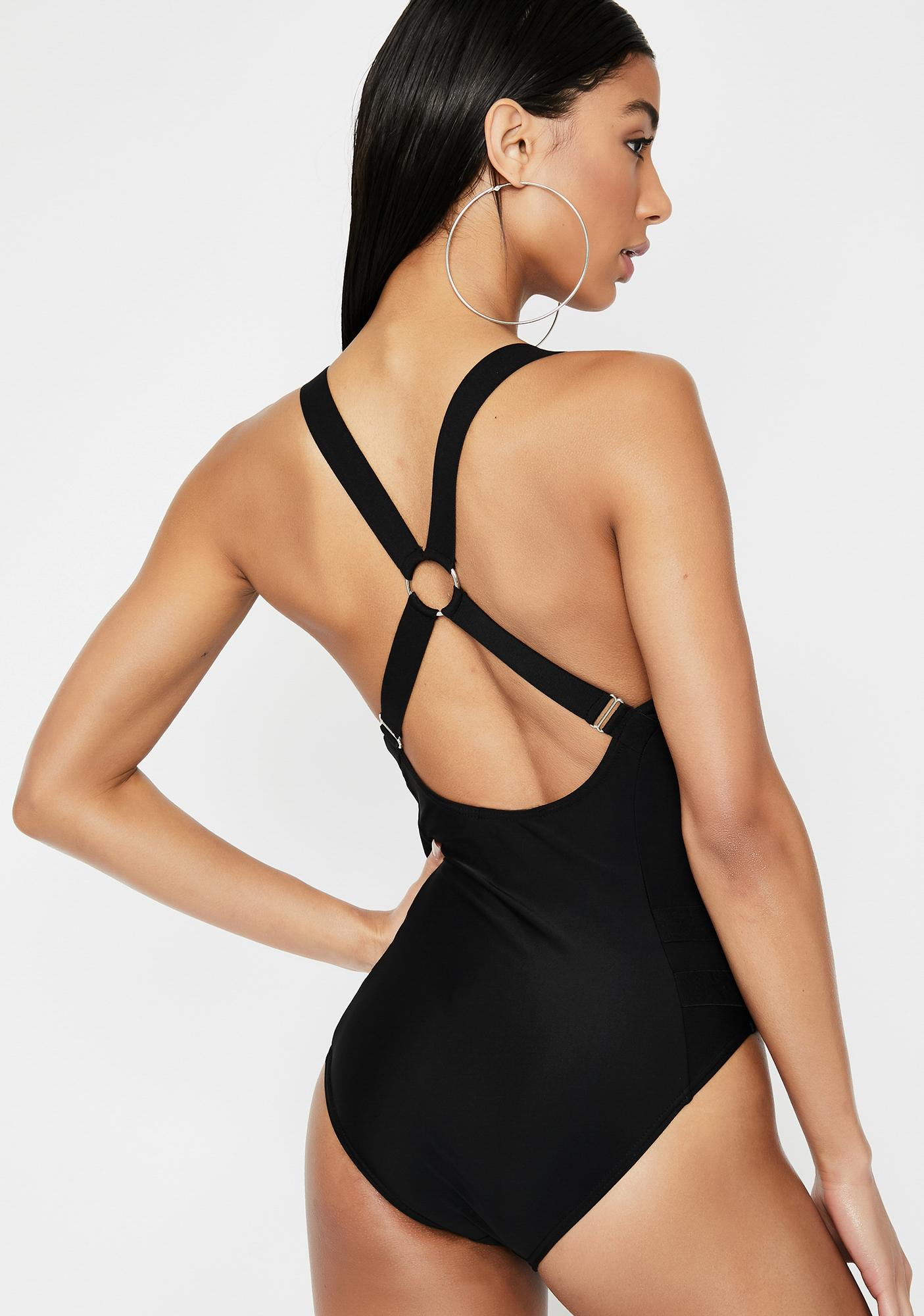Poster Grl Promiscuous Grl One-Piece Swimsuit